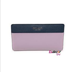 NWT Kate Spade Cameron Large Slim Bifold Wallet